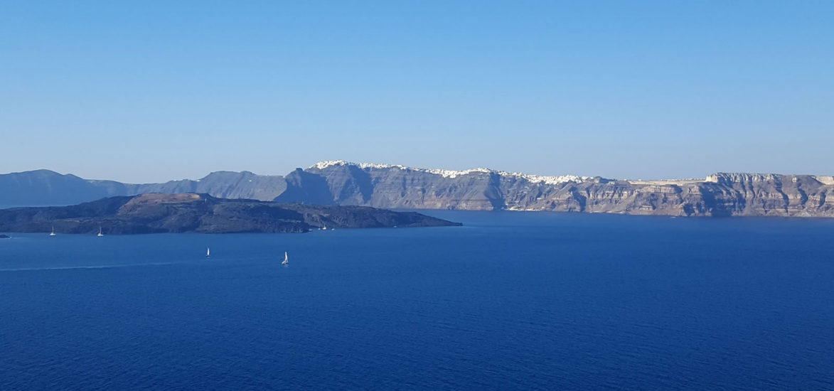 The South Santorini semi-private tour